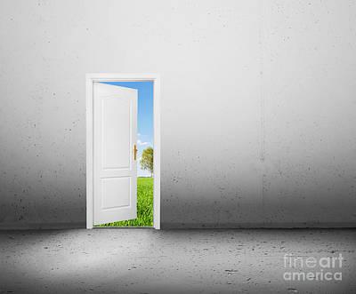 Choice Photograph - Open Door To A New World by Michal Bednarek