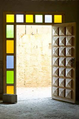 Moroccan Photograph - Open Door by Tom Gowanlock