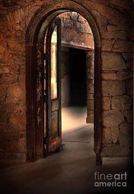 Photograph - Open Doorways In Old Building by Jill Battaglia