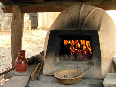 Photograph - Open Fire Cooking by Jacqueline M Lewis