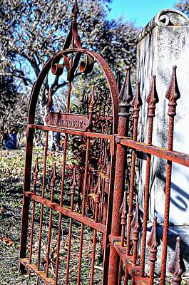 Photograph - Open Gate by Kelly Kitchens