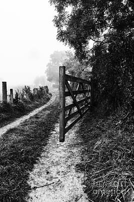 Photograph - Open Gate by Trevor Chriss
