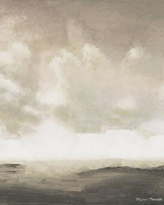 Open Gray Sky I Art Print by Michael Marcon