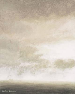 Open Gray Sky II Art Print by Michael Marcon