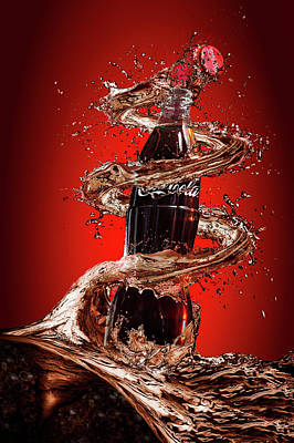Cola Photograph - Open Happiness by Isma Yunta