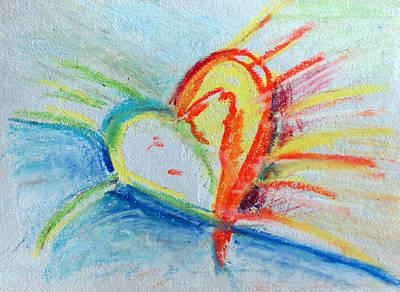 Pastel - Open Heart by Racquel Morgan