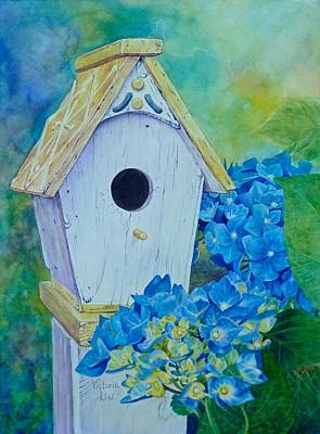 Painting - Open House by Victoria Lisi