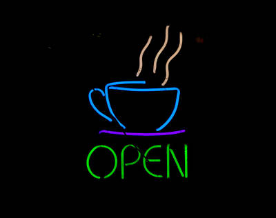 Photograph - Open In Neon Green by E Faithe Lester