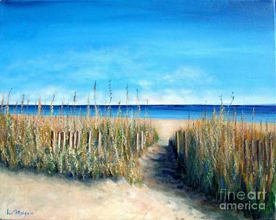 Painting - Pathway To Peace by Laurie Morgan