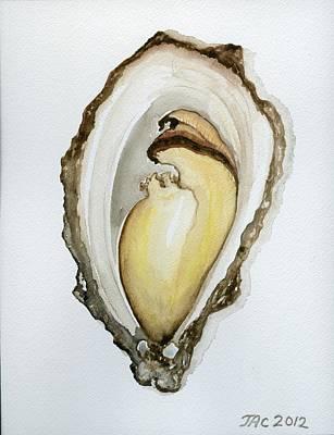 Open Oyster #3 Art Print