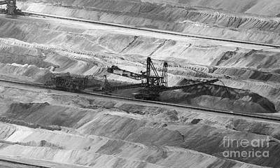 Photograph - Open Pit Brown Coal Mining 8 by Rudi Prott