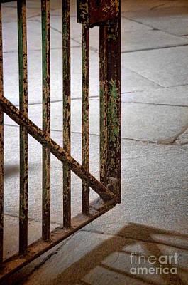 Photograph - Open Prison Gate by Jill Battaglia