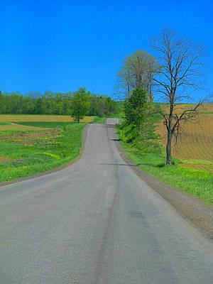 Photograph - Open Road by Rhonda Barrett