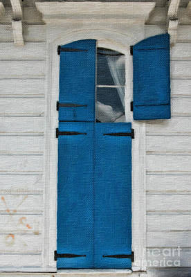 Photograph - Open Shutter After Hurricane Katrina by Kathleen K Parker