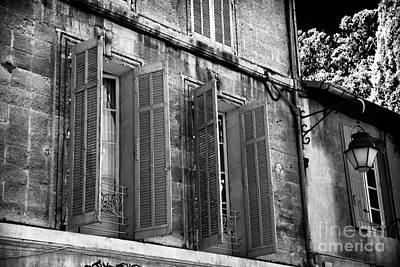 Photograph - Open Shutters In Avignon by John Rizzuto