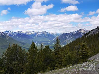 Keith Richards - Open Skies in Alberta by Brenda Kean