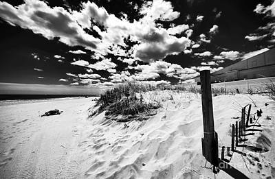 Of Artist Photograph - Open Sky In Asbury by John Rizzuto