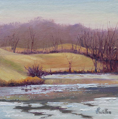 Painting - Open Water by Judy Fischer Walton