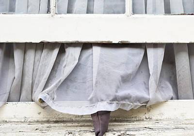 Frame House Photograph - Open Window by Tom Gowanlock