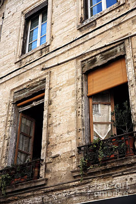 Photograph - Open Windows In Avignon by John Rizzuto