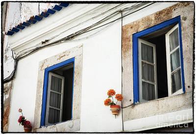 Photograph - Open Windows In Cascais by John Rizzuto