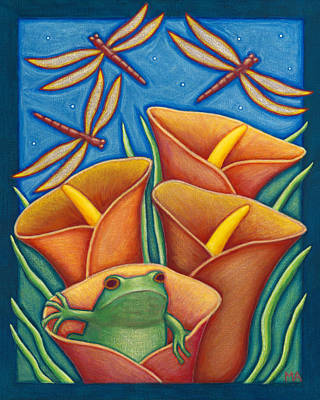 Opening Day Art Print by Mary Anne Nagy