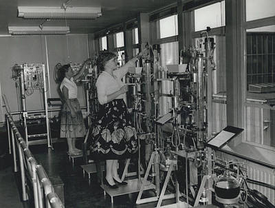 Opening Of The Warren Spring Laboratory... Research Into Art Print by Retro Images Archive