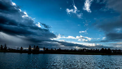 Photograph - Opening Skies-between The Storms by  Onyonet  Photo Studios
