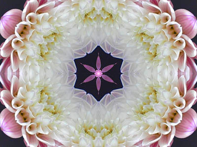 Digital Art - Opening To Love Mandala by Diane Lynn Hix