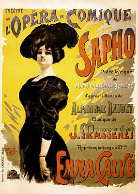 Op Art Photograph - Opera Comique 1897 by Mountain Dreams