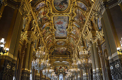 Photograph - Opera Garnier - The Grand Foyer by RicardMN Photography