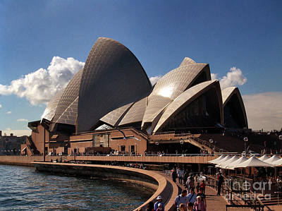 Art Print featuring the photograph Opera House Famous by John Swartz