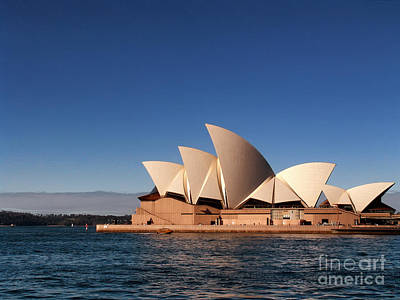 Opera House Art Print by John Swartz