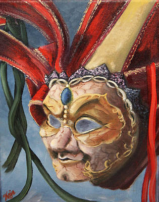 Painting - Opera Mask by Catherine Link