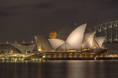 Sydney Skyline Photograph - Operahouse by Alex Gitman
