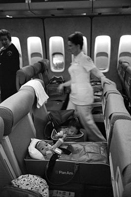 American Airways Photograph - Operation Babylift, 1975 by Granger