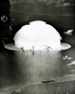 Hiroshima Photograph - Operation Crossroads by Benjamin Yeager
