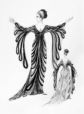 Operetta Costume Art Print by Granger