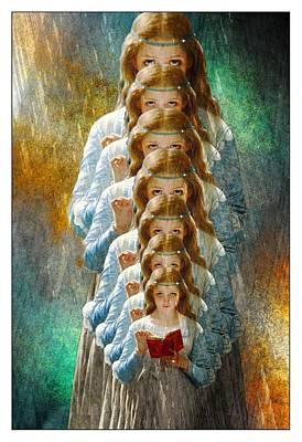 Digital Art - Ophelia by Ericamaxine Price