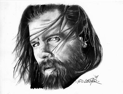 Opie Art Print by Scot Gotcher