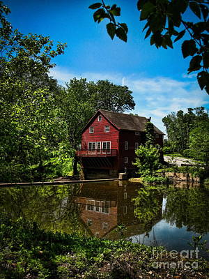 By Colleen Kammerer Photograph - Opie's Grist Mill by Colleen Kammerer