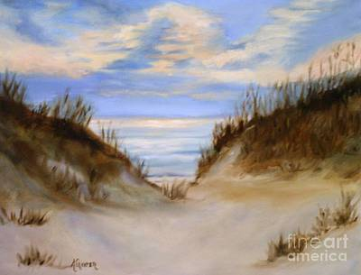 Painting - Oplympic Shores by Alice Gunter