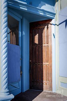 Winter Animals - Opposing Doors by Janice Pariza