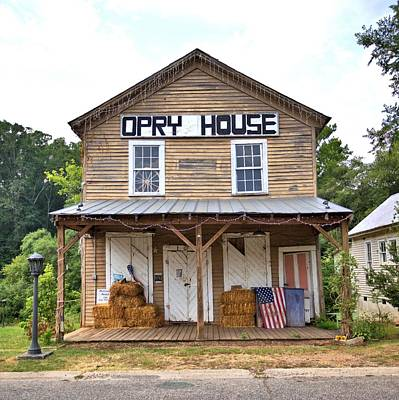 Photograph - Opry House - Square by Gordon Elwell