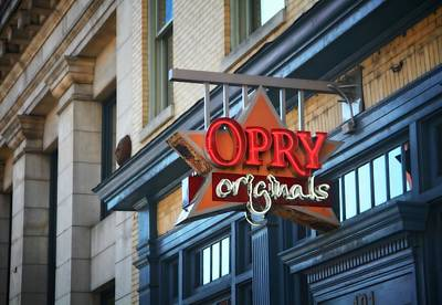 Broadway In Nashville Photograph - Opry Originals On Broadway by Dan Sproul