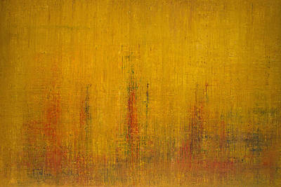 Abstract Expressionist Painting - Opt.47.14 Let The Sunshine In by Derek Kaplan