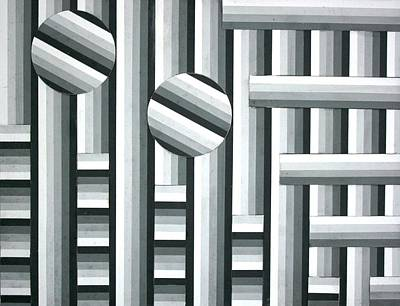 Painting - Optical Art 1 by Stacy C Bottoms
