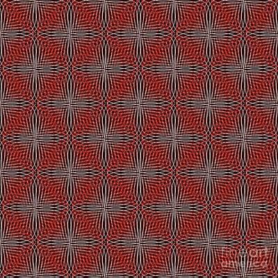 Digital Art - Optical Illusion by Yali Shi