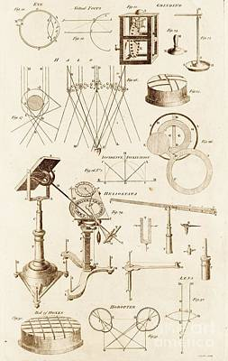 Helios Photograph - Optical Instrument And Diagrams by David Parker