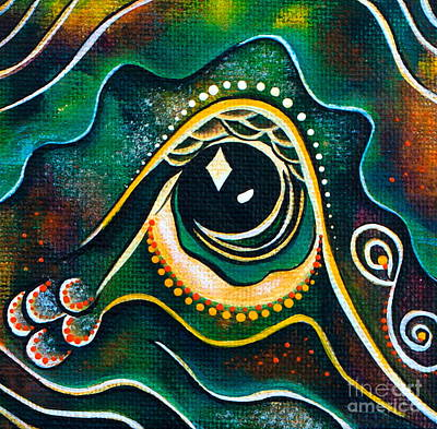 Optimist Spirit Eye Art Print